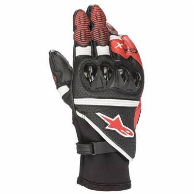 Alpinestars Handschuhe GP X v2, schwarz-weiß-rot
