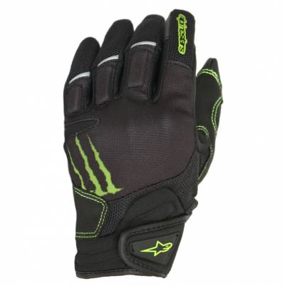 Alpinestars Handschuhe Raid, Monster schwarz-grün