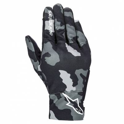 Alpinestars Handschuhe Reef, schwarz-grau-camo