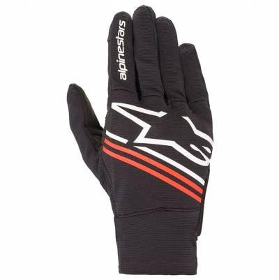 Alpinestars Handschuhe Reef, schwarz-weiß-fluorot