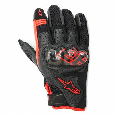 Alpinestars Handschuhe Rio Hondo, schwarz-rot