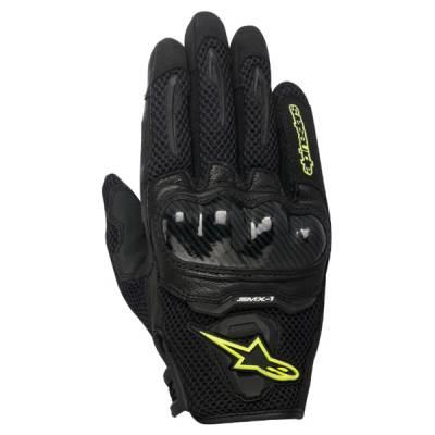 Alpinestars Handschuhe SMX-1 Air, schwarz-gelb fluo