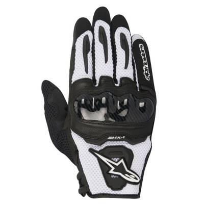 Alpinestars Handschuhe SMX-1 Air, schwarz-weiß