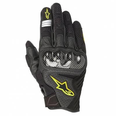 Alpinestars Handschuhe SMX-1 Air V2, schwarz-fluogelb