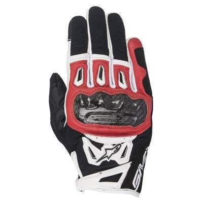 Alpinestars Handschuhe SMX-2 Air Carbon V2, schwarz-rot-weiß