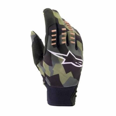Alpinestars Handschuhe SMX-E, grau-camo-sand