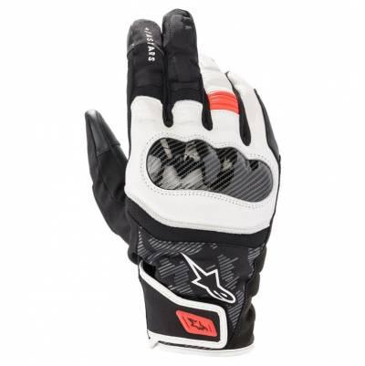 Alpinestars Handschuhe SMX Z Drystar®, schwarz-weiß-fluorot
