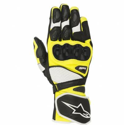Alpinestars Handschuhe SP-1 V2, schwarz-weiß-fluogelb