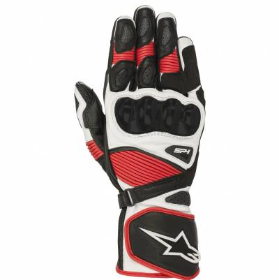 Alpinestars Handschuhe SP-1 V2, schwarz-weiß-rot