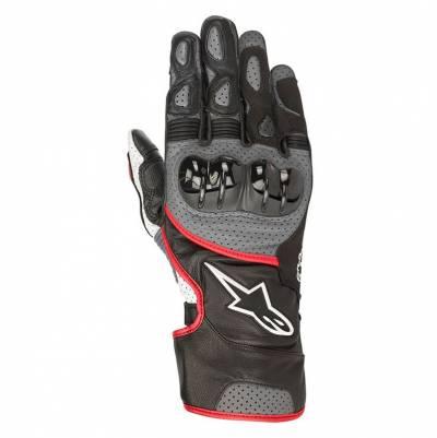 Alpinestars Handschuhe SP-2 V2, schwarz-grau-fluorot