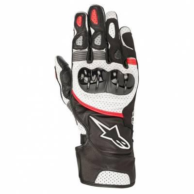 Alpinestars Handschuhe SP-2 V2, schwarz-weiß-rot