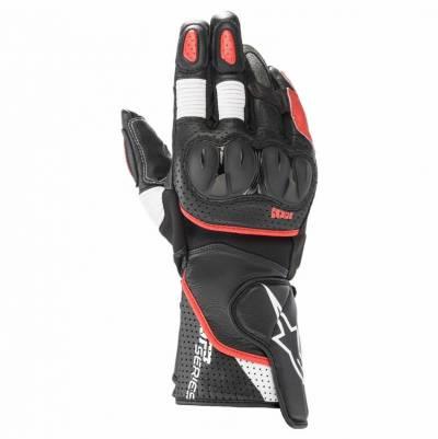 Alpinestars Handschuhe SP-2 v3, schwarz-weiß-hellrot