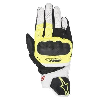 Alpinestars Handschuhe SP-5, schwarz-fluogelb-weiß