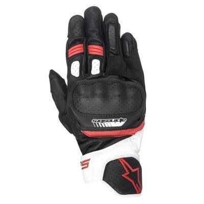 Alpinestars Handschuhe SP-5, schwarz-weiß-rot