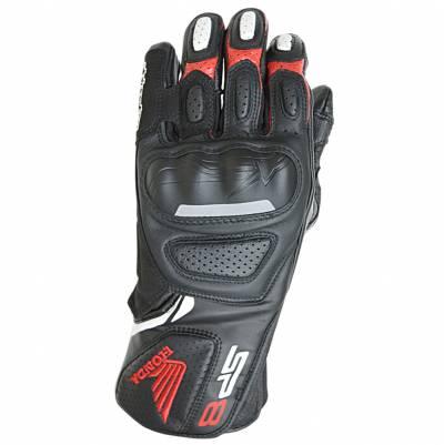 Alpinestars Handschuhe SP-8 V2 Honda, schwarz-weiß-rot