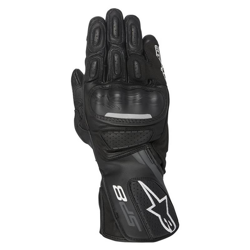 Alpinestars Handschuhe SP-8 V2, schwarz-dunkelgrau