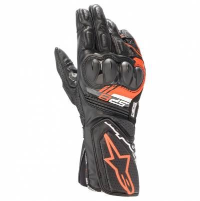 Alpinestars Handschuhe SP-8 v3, schwarz-fluorot