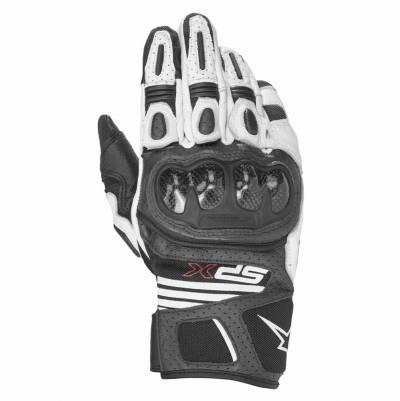 Alpinestars Handschuhe SP X Air Carbon v2, schwarz-weiß