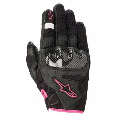 Alpinestars Handschuhe Stella SMX-1 Air V2, schwarz-fuchsia