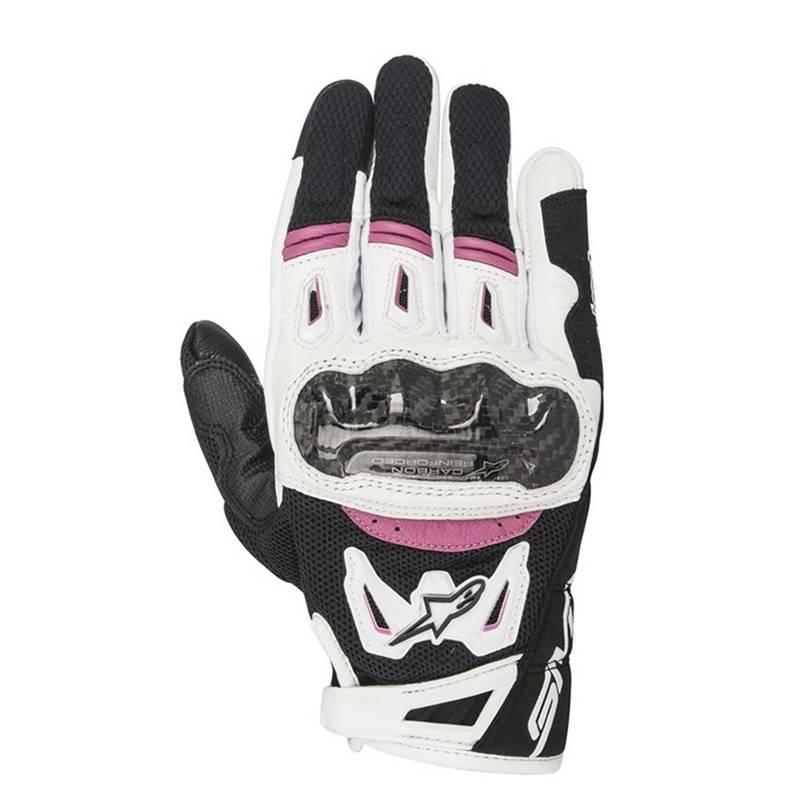 Alpinestars Handschuhe Stella SMX-2, schwarz-weiß-fuchsia