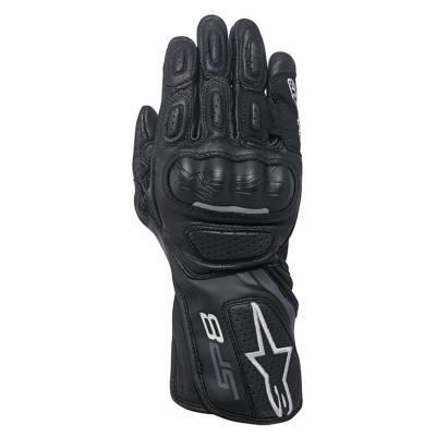 Alpinestars Handschuhe Stella SP-8 V, schwarz-dunkelgrau