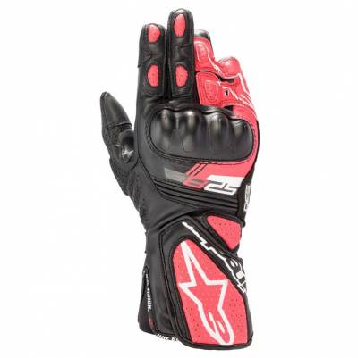 Alpinestars Handschuhe Stella SP-8 v3, schwarz-weiß-pink