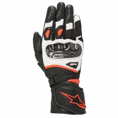 Alpinestars Handschuhe Stella SP1 V2, schwarz-weiß-fluorot