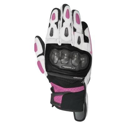 Alpinestars Handschuhe Stella SPX, schwarz-weiß-fuchsia