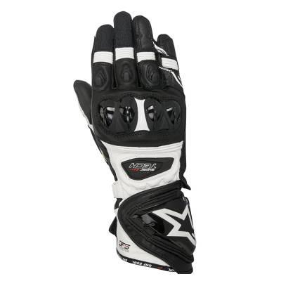 Alpinestars Handschuhe Supertech, schwarz-weiß