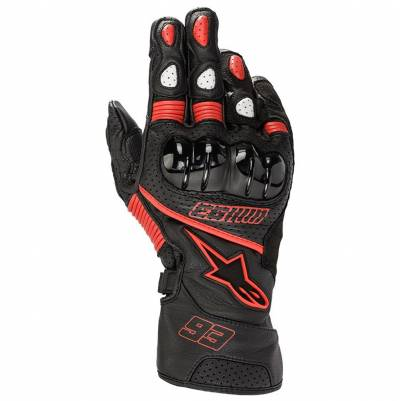Alpinestars Handschuhe Twin Ring MM93, schwarz-rot