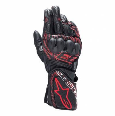 Alpinestars Handschuhe Twin Ring v2, schwarz-hellrot
