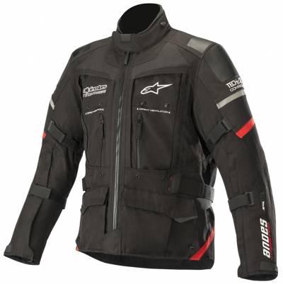 Alpinestars Herren Textiljacke Andes Pro Drystar® (Tech-Air-e® kompatibel), schwarz-rot