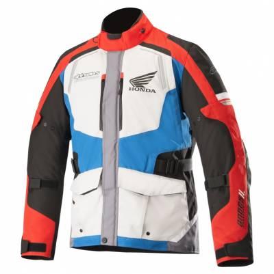Alpinestars Herren Textiljacke Andes V2 Drystar® Honda, grau-rot-blau