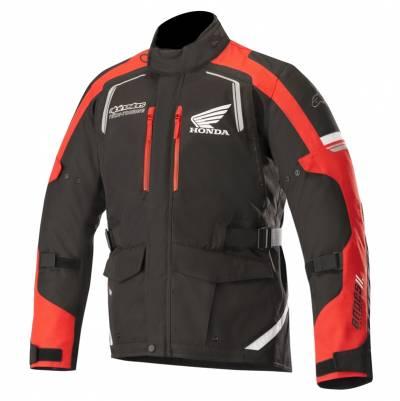Alpinestars Herren Textiljacke Andes V2 Drystar® Honda, schwarz-rot