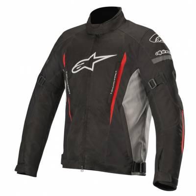 Alpinestars Herren Textiljacke Gunner V2 WP, schwarz-grau-rot