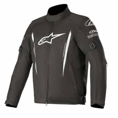 Alpinestars Herren Textiljacke Gunner V2 WP, schwarz-weiß