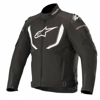 Alpinestars Herren Textiljacke T-GP R V2, schwarz-weiß
