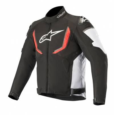 Alpinestars Herren Textiljacke T-GP R V2, schwarz-weiß-rot