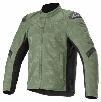 Alpinestars Herren Textiljacke T SP-5 Rideknit, grün-camo-schwarz