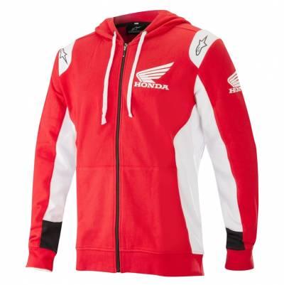 Alpinestars Hoodie Honda, rot-weiß