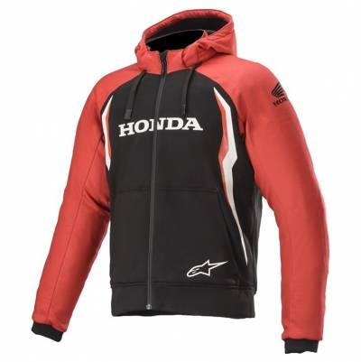 Alpinestars Hoody Chrome Sport Honda, rot-schwarz
