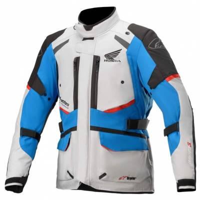 Alpinestars Jacke Andes v3 Drystar® Honda, grau-blau-rot