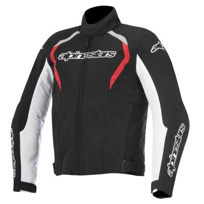 Alpinestars Jacke Fastback, schwarz-weiß-rot