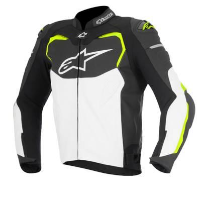 Alpinestars Jacke GP Pro, schwarz-weiß-gelbfluo