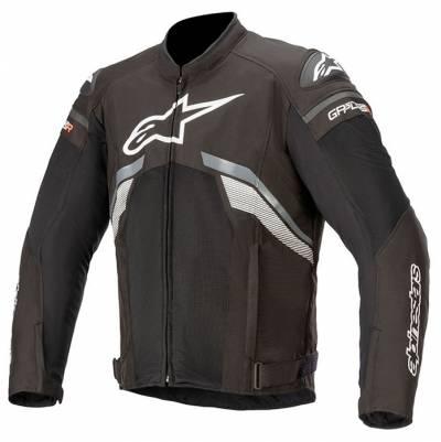 Alpinestars Jacke - T-GP Plus R V3 Air, schwarz-dunkelgrau-weiß