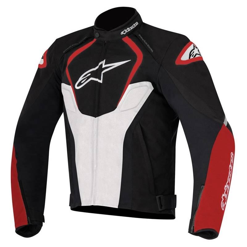 Alpinestars Jacke T-Jaws WP, schwarz-weiß-rot