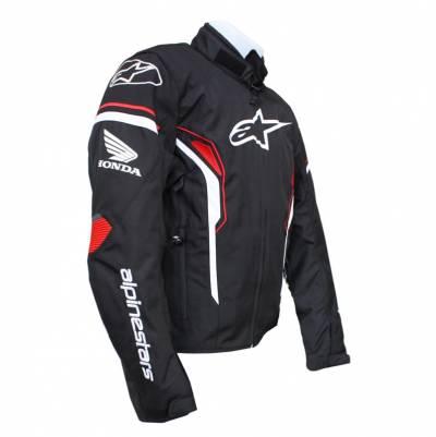Alpinestars Jacke T-SP-1 WP Honda, schwarz-weiß-rot