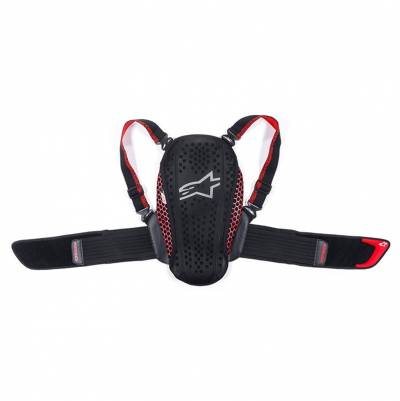 Alpinestars Kinder-Rückenprotektor Nucleon KR-Y, schwarz-rot