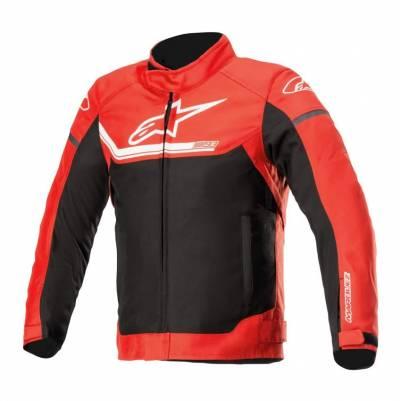 Alpinestars Kinder Textiljacke Youth Austin WP MM93 rot-schwarz