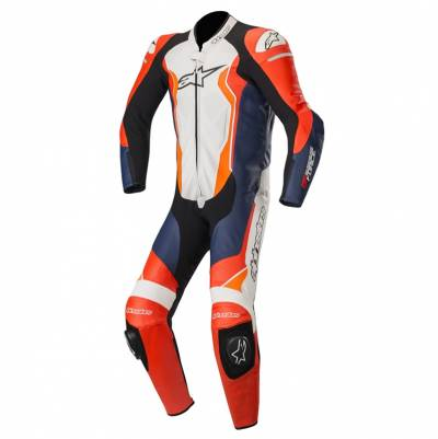 Alpinestars Kombi GP Force Einteiler, rot-schwarz-weiß-orange